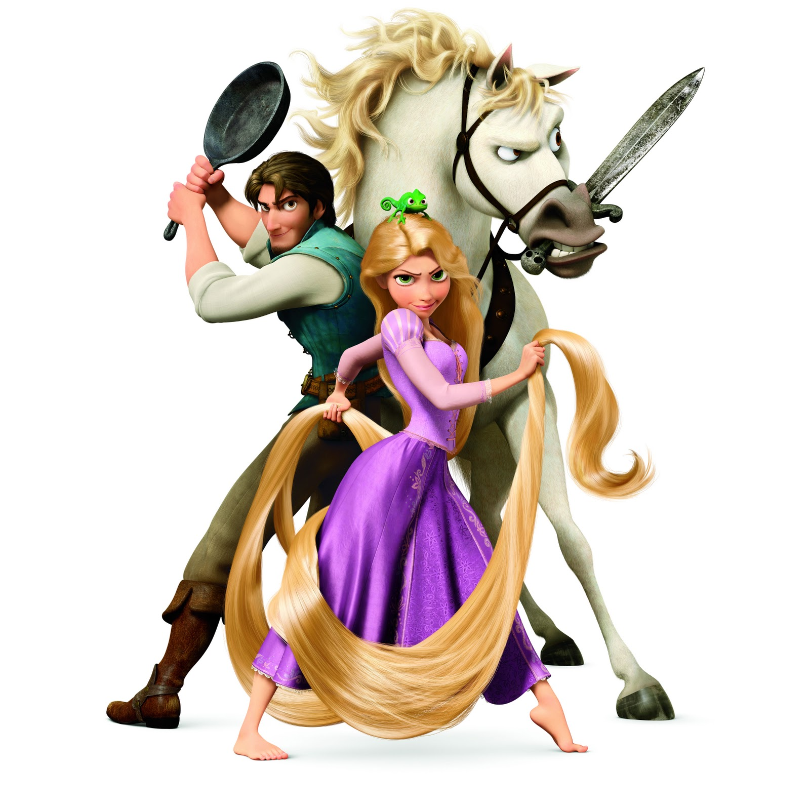 Tangled and Repunzel